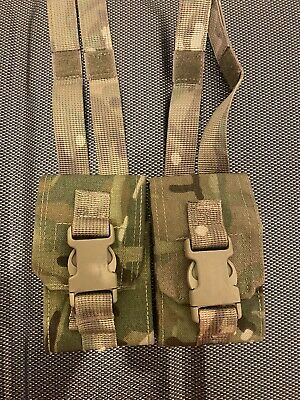 £14 • Buy British Army Issued Virtus Grenade Pouch Molle MTP Multicam Army Military X2