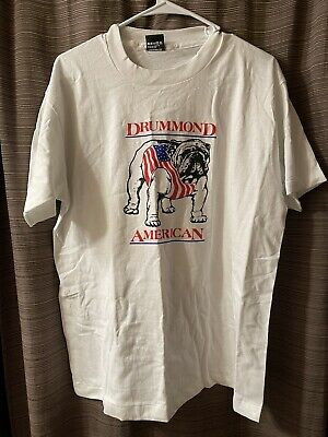 """£21.24 • Buy Drummond American T Shirt NOS Mens XL """"We Move Our Cans For You"""""""