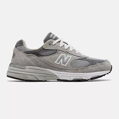 $199 • Buy New Balance Mens Made In US 993 Grey With White 2E FREE SHIPPING