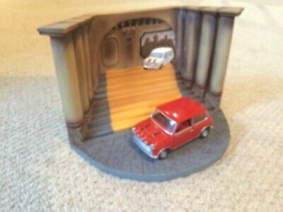 £40 • Buy Corgi Italian Job Setting With Red Mini Model Excellent Condition Kept In Cabine