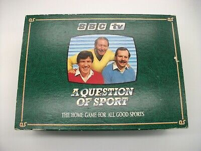 £4.99 • Buy VINTAGE GAME BBC Question Of Sport The Games Team Ltd 1986