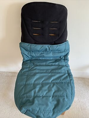 £9.50 • Buy Mamas And Papas Universal Footmuff In Teal.