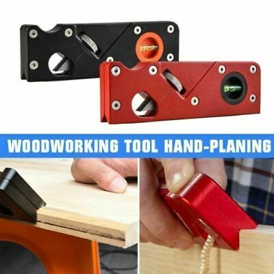£13.59 • Buy Woodworking Tools Hand-planing Wiping Edge Corner Planer Chamfer Plane Kit