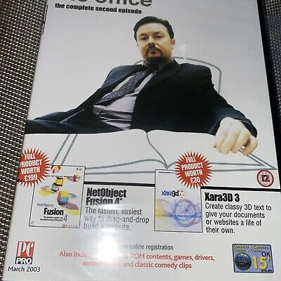 £3 • Buy THE OFFICE - COMPLETE SECOND EPISODE - MAXIM ULTIMATE COMEDY DVD - New