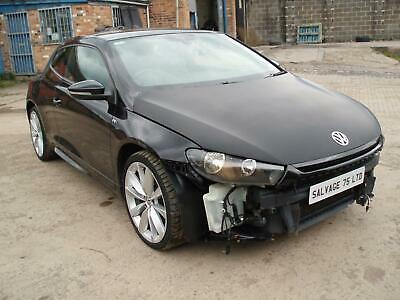 £5450 • Buy 2014 Volkswagen Scirocco 2.0 TDI 177 R-Line DAMAGED SALVAGE REPAIRABLE (leather)