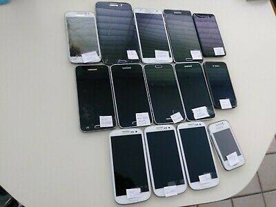 $ CDN57.27 • Buy Lot Of 14 Phones - 13 Samsung Galaxies And 1 Nokia For Parts Or Repair