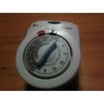 £0.18 • Buy Timex 24 Hour Electrical Timer Dial One Outlet