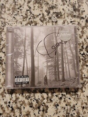 AU3.11 • Buy Folklore -  In The Trees  SIGNED Limited Edition Deluxe CD - Taylor Swift