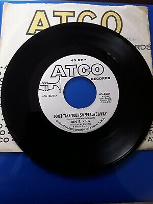 £20 • Buy NORTHERN  SOUL PROMO  BY  BEN E. KING  ON ATCO WHITE  LABEL ,  Lot 1207