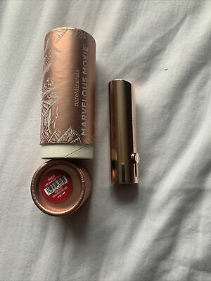 £7.99 • Buy Bare Minerals Marvelous Moxie Lipstick Shade Reign On  Red Brand New