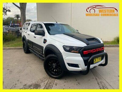 AU36990 • Buy 2017 Ford Ranger PX MkII MY18 XL Hi-Rider Utility Double Cab 4dr Spts Auto 6s A