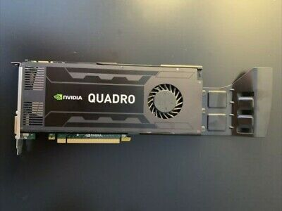 $ CDN54.81 • Buy NVIDIA QUADRO K4000 3GB DDR5 GRAPHICS CARD Pulled From Working Server!!