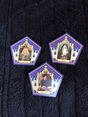 $ CDN32.60 • Buy Harry Potter Chocolate Frog Cards Merlin, Dumbledore And Paracelsus Cards Rare