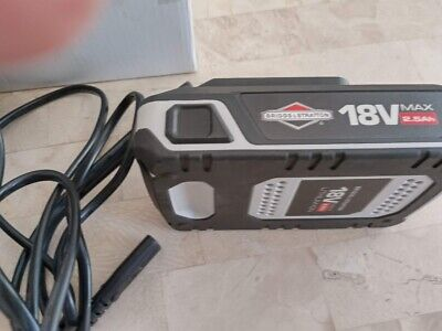 AU138.36 • Buy Briggs And Stratton Lithium-Ion 2.5Ah Battery+chargerMurray 18V, With USB Port,