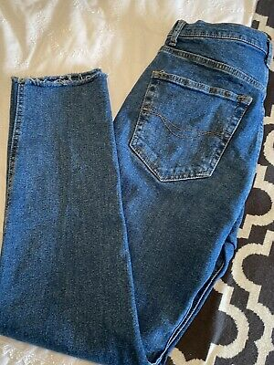 AU17.53 • Buy Pull And Bear Mid Blue Jeans - EUR 38 / Size 10