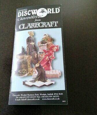 £7.50 • Buy Terry Pratchett's Discworld Characters Booklet From Clarecraft