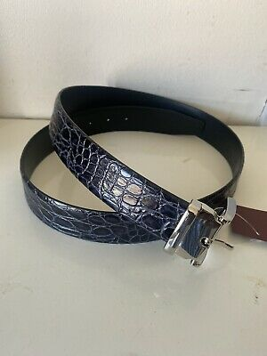 £45 • Buy ANDERSON'S Leather Patterened Belt 38UK / 95EU New With Tag