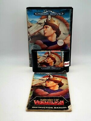 £15 • Buy Sword Of Vermilion SEGA MEGA DRIVE Game Boxed With Manual. Tested Shown Working