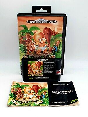 £24.99 • Buy Chuck Rock II 2 Son Of Chuck Sega Mega Drive Console Tested And Shown Working
