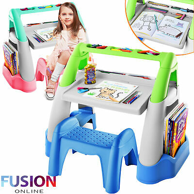 £22.95 • Buy Kids Table And Chair Set Childrens Study Plastic Desk Toddlers Child Activity