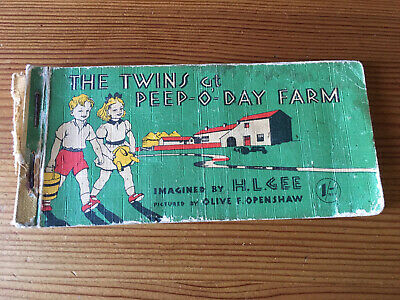 £0.99 • Buy 1950's Book The Twins At Peep-o-day Farm H Gee O Openshaw Mary Mouse Series