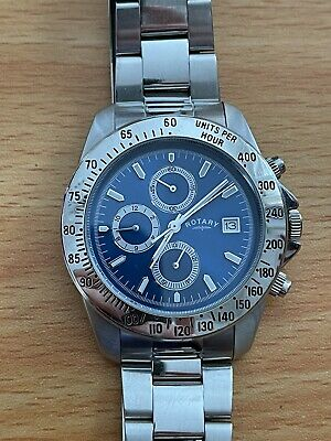 £22 • Buy Mens Rotary Chronograph Watch Used