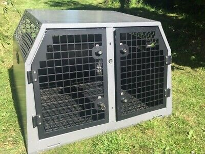 £450 • Buy Double Dog Car Cage - Trans K9 (B18)
