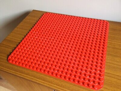 £8 • Buy Lego Duplo Base Board / Plate Red Large 24 X 24 Studs Baseplate