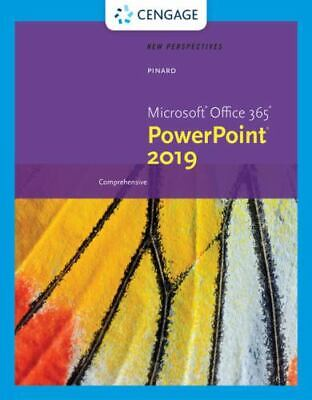 AU53.44 • Buy New Perspectives Microsoft Office 365 & PowerPoint 2019 Comprehensive (MindTa…