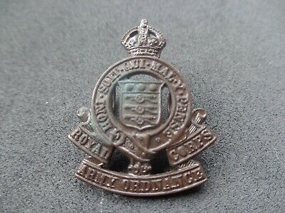 £5 • Buy Ww2 Royal Army Ordnance Corps Officers Collar Badge (cast Bronze)(no Mkrs)