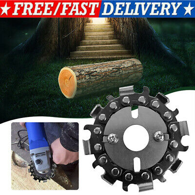 £6.35 • Buy Wood Carving Disc Angle Grinder Chain Saw Blade 2.5  8 Teeth For Wood Cutting