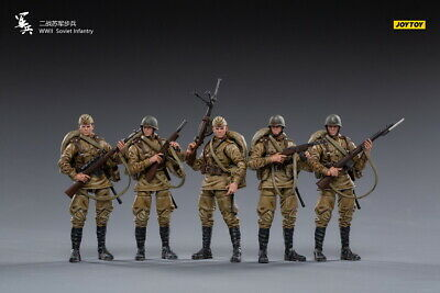 $115.99 • Buy JOYTOY JT0838 1:18 WWII Soviet Army Officer Military Male Soldier Figure Doll
