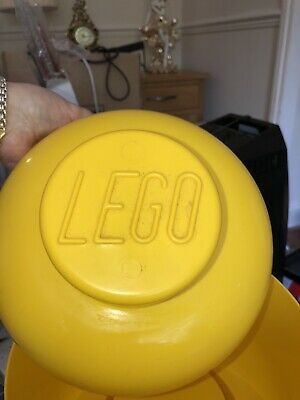 £12 • Buy Large Lego Head Storage Box - Lego Man Yellow Smiley Face 11  Collectable.