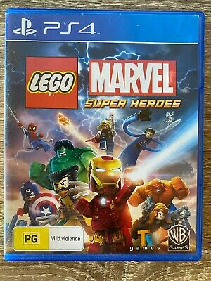 AU18.50 • Buy Lego Marvel Super Heroes Ps4 Sony PlayStation 4 Great Price!