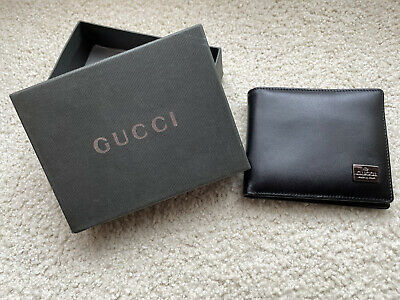 AU120 • Buy GUCCI New In Box Leather Wallet Mens