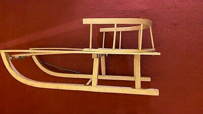 £50 • Buy Traditional Wooden Sledge