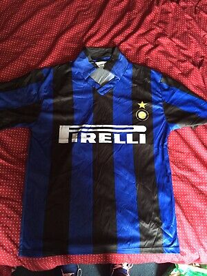 £15 • Buy Unofficial Vintage Inter Milan 1990s Home Shirt XL