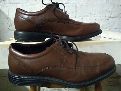 £20 • Buy Rock Port Mens Lace Up Size 9 Brown Shoes. Light Weight, Flexible
