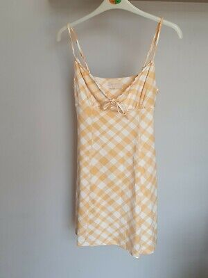 AU9.22 • Buy Small Urban Outfitters Gingham Dress