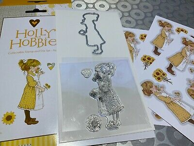 £9 • Buy Holly Hobbie Stamp And Cutting Die Set With Printed Images