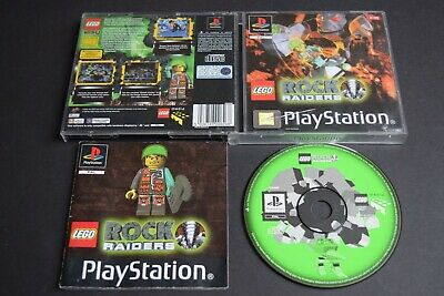 £6.79 • Buy Lego Rock Raiders Game PlayStation One PS1 Good Cond Manual PAL