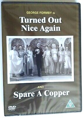 £7.99 • Buy George Formby Turned Out Nice Again / Spare A Copper DVD NEW SEALED