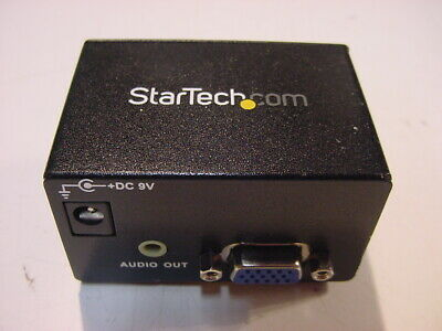 £7.19 • Buy Startech Component To Vga Video Converter With Audio Cpnt2vgaa - No Cords