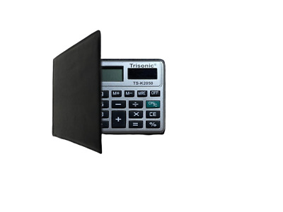 £10.13 • Buy 14x Credit Card Size Calculators - With FREE Carrying Cases - Less Than $1 Each!