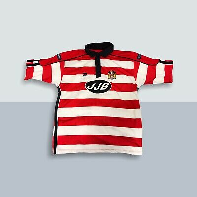 £29.99 • Buy Wigan Warriors Rugby League Home Shirt 2003 2004 Jersey JJB Patrick Top Size L