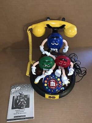 $39.99 • Buy Vintage M & M's Animated Telephone With Instructions