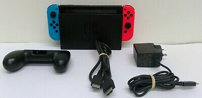 AU230 • Buy Nintendo Switch Console, With Dock, HDMI Cable, Charge Cord 2x Joy-Con (L&R)