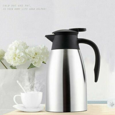 AU22.99 • Buy Home 2L Stainless Steel Vacuum Thermal Flask Jug Coffee Water Insulated Bottle