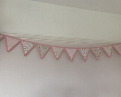 £7 • Buy Laura Ashley Bella Butterfly Bunting 2.5m Long Pink