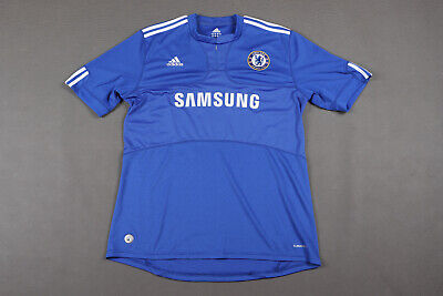 £1.99 • Buy Chelsea London 2009/2010 Home Football Shirt Jersey Adidas Size Xl Adult